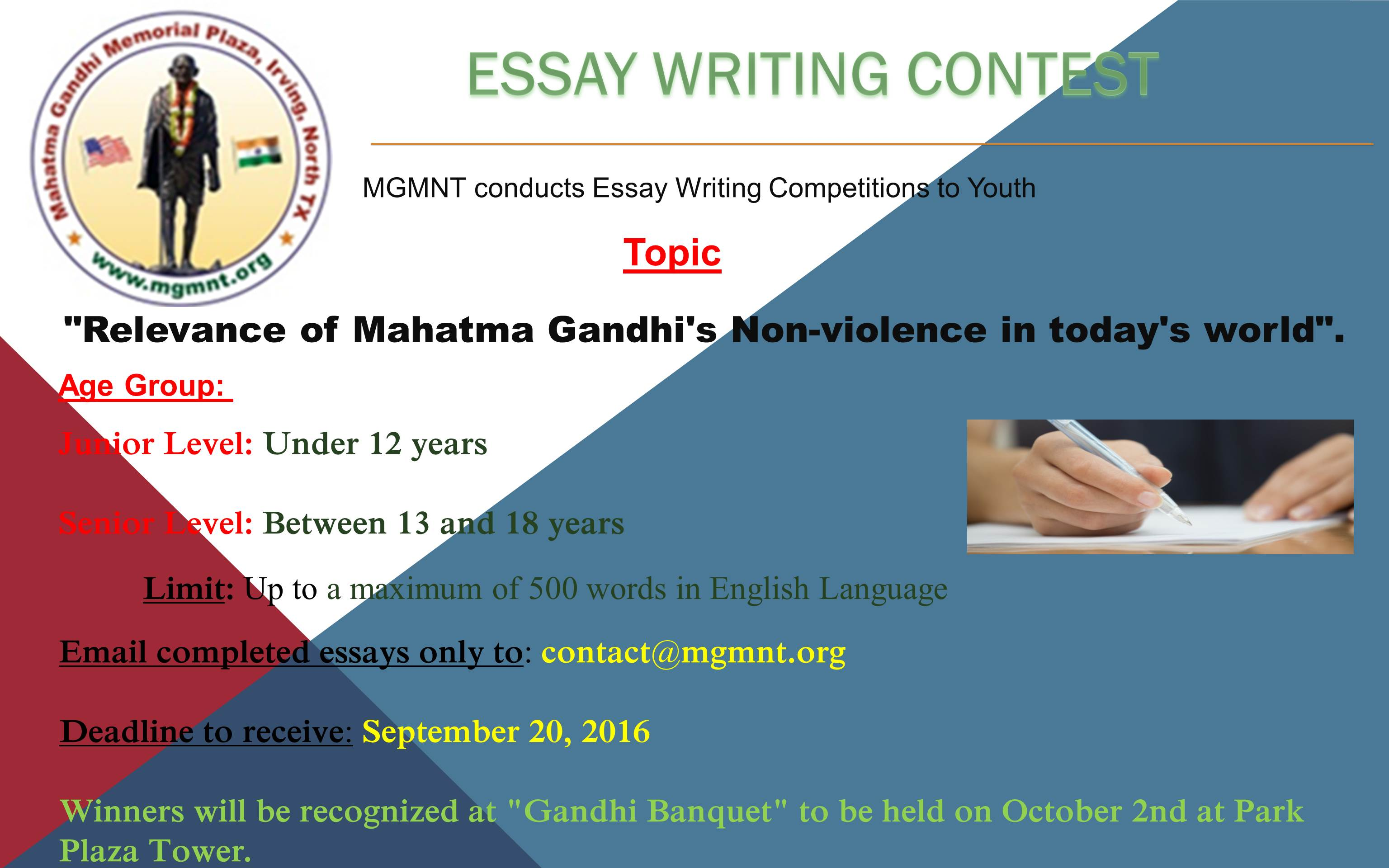 essay relevance mahatma gandhi today